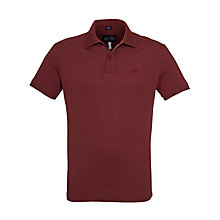 Buy Armani Jeans Short Sleeve Polo Shirt Online at johnlewis.com