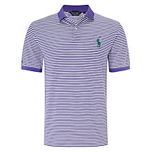 Buy Polo Golf by Ralph Lauren Pro-Fit Stripe Polo Shirt Online at johnlewis.com