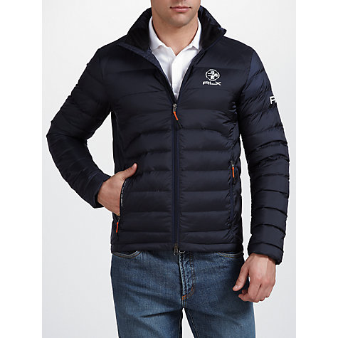 Buy Ralph Lauren RLX Golf Explorer Down Jacket, Navy Online at johnlewis.com