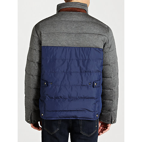 Buy Polo Golf by Ralph Lauren Down Explorer Jacket, Blue/Grey Online at johnlewis.com