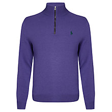 Buy Polo Ralph Lauren 100% Merino Wool Golf Jumper Online at johnlewis.com