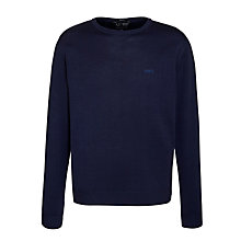 Buy Armani Jeans Luxury Pure Wool Jumper Online at johnlewis.com