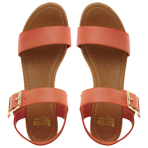 Buy Bertie Golinda Wedged Sandals Online at johnlewis.com