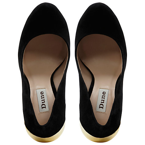 Buy Dune Believer Metal Statement Platform Heels Online at johnlewis.com