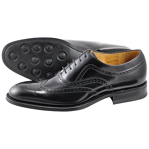 Buy Loake Bloomsbury Leather Brogue Shoes Online at johnlewis.com