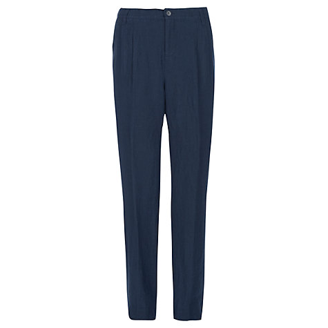 Buy Jigsaw Irish Linen Trousers Online at johnlewis.com