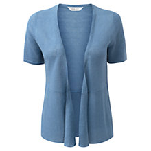 Buy East Short Sleeve Linen Cardigan Online at johnlewis.com