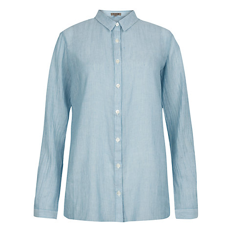 Buy Jigsaw Ladder Stripe Shirt Online at johnlewis.com