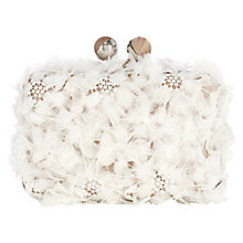 Buy Coast Desphina Clutch Bag, Neutral Online at johnlewis.com