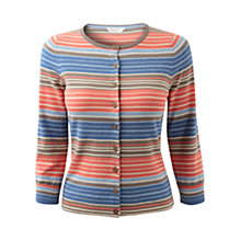 Buy East Amalfi Striped Cardigan, Multi Online at johnlewis.com