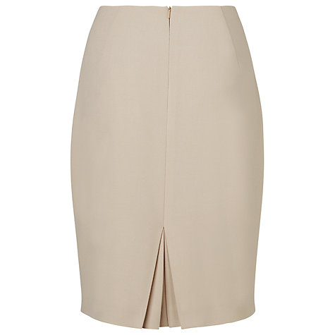 Buy L.K. Bennett Kathy Pencil Skirt, Soft Biscuit Online at johnlewis.com
