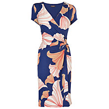 Buy Phase Eight Adrianna Dress, Blue/Coral Online at johnlewis.com