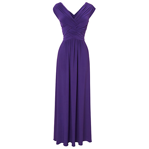 Buy Phase Eight Monica Maxi Dress, Iris Online at johnlewis.com