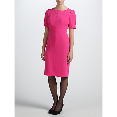 Buy COLLECTION by John Lewis Kendal Shift Dress, Pink Sorbet Online at johnlewis.com