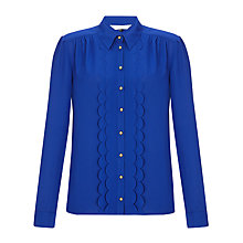 Buy COLLECTION by John Lewis Devin Scallop Blouse Online at johnlewis.com