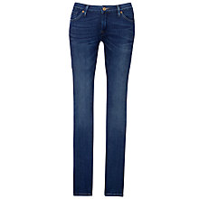 Buy 7 For All Mankind Cristen Mid-Rise Skinny Jeans, Pacific Shadows Online at johnlewis.com