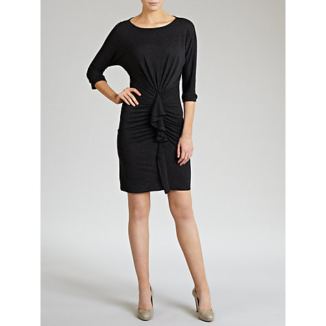 Buy Hoss Intropia Revers Ruffle Jersey Dress, Merengo Online at johnlewis.com