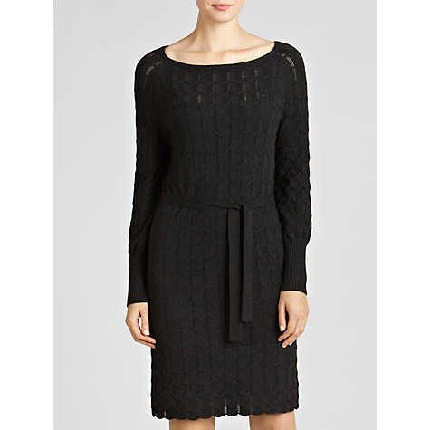 Buy Hoss Intropia Chevron Knitted Dress, Merengo Online at johnlewis.com
