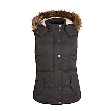 Buy Fat Face Amy Gilet, Phantom Online at johnlewis.com