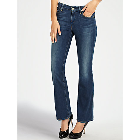 Buy Levi's Curve ID - Demi Curve Straight Leg Jeans, Mystery Light Online at johnlewis.com