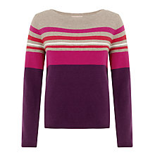 Buy John Lewis Placement Stripe Sweater Online at johnlewis.com