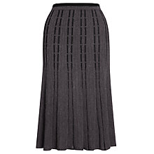 Buy John Lewis Contrast Knit Skirt Online at johnlewis.com