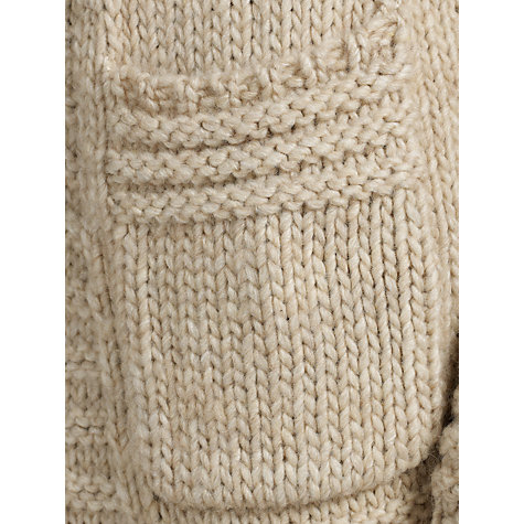 Buy John Lewis Capsule Collection Stitch Edge Cardigan, Neutral Online at johnlewis.com