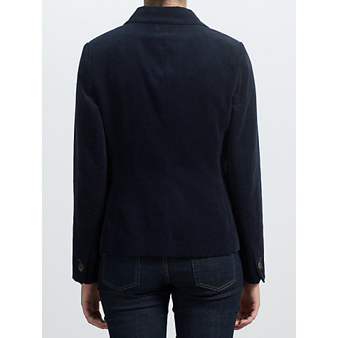 Buy John Lewis Capsule Collection Corduroy Blazer, Blue Online at johnlewis.com