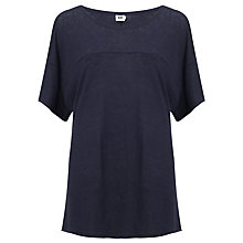 Buy Kin by John Lewis Linen Jersey Top Online at johnlewis.com