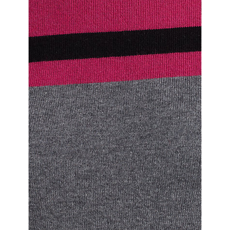 Buy John Lewis Capsule Collection Colour Block Dress, Grey/Pink Online at johnlewis.com