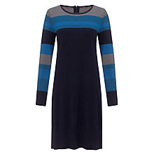 Buy John Lewis Capsule Collection Colour Block Dress, Teal/Navy Online at johnlewis.com