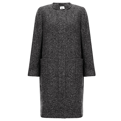 Buy Kin by John Lewis Cocoon Coat, Grey Online at johnlewis.com