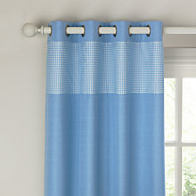 Buy little home at John Lewis Bethany Eyelet Curtains Online at johnlewis.com