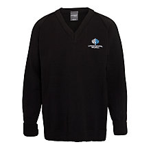 Buy Lyndon School, Solihull Boys' Jumper, Black Online at johnlewis.com