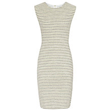 Buy Reiss Striped Panelled Dress, Navy/Cream Online at johnlewis.com