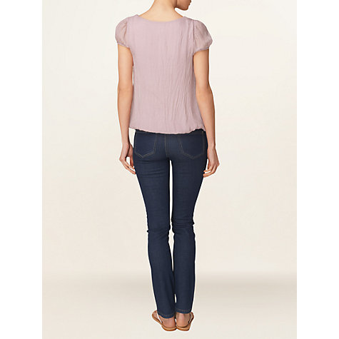 Buy Phase Eight Made in Italy Nina Silk Chiffon Blouse Online at johnlewis.com
