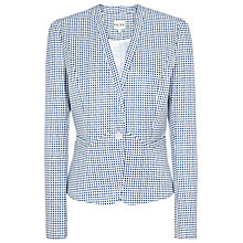 Buy Reiss Check Print Jacket, Blue Online at johnlewis.com