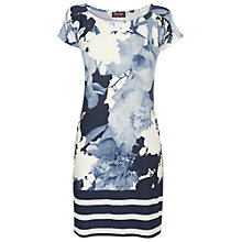 Buy Phase Eight Monique Tunic Top, Blue Online at johnlewis.com
