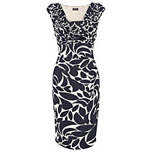 Buy Phase Eight Marcie Print Dress, Navy/Ivory Online at johnlewis.com
