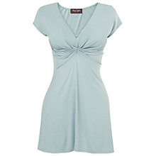 Buy Phase Eight Kelly Longline Top, Pale Blue Online at johnlewis.com