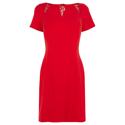 Buy Coast Orchid Dress, Red Online at johnlewis.com