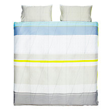 Buy HAY Colour Block Duvet Cover and Pillowcase Set, Yellow Online at johnlewis.com