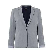 Buy Hobbs Marshall Blazer, Indigo Online at johnlewis.com