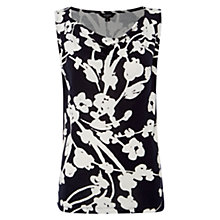 Buy Hobbs Emmeline Top, Navy/Ivory Online at johnlewis.com