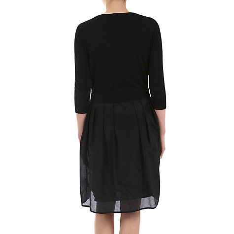 Buy Jigsaw Lace Overlay Dress, Black Online at johnlewis.com
