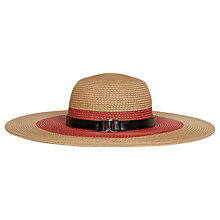 Buy Reiss Wide Brim Straw Hat Online at johnlewis.com