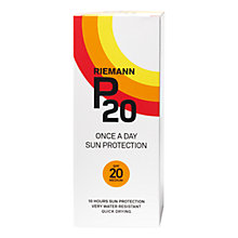 Buy Riemann P20 Once a Day SPF 20 Sun Cream Online at johnlewis.com