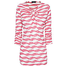 Buy James Lakeland Tie Neck Tunic Top Online at johnlewis.com