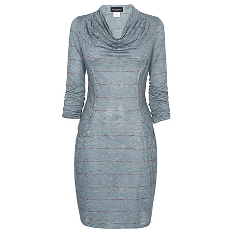 Buy James Lakeland Cowl Neck Stripe Dress Online at johnlewis.com