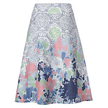 Buy White Stuff Hyper Garden Skirt, Palm Green Online at johnlewis.com